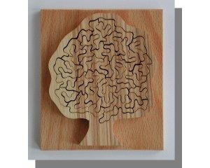 Unwiderstehlich-Puzzle Kleeblatt